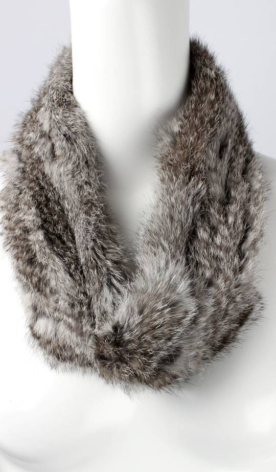 Alice & Lily fur snood grey STYLE: SC/4375GRY