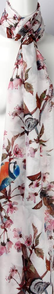 Alice & Lily printed scarf orange  Style: SC/4451/Ltd. Ed.