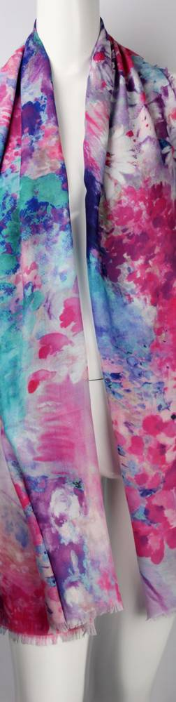 Alice & Lily printed scarf pink Style: SC/4452/Ltd. Ed.