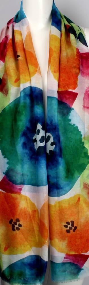 Alice & Lily printed scarf Marimekko multi   Style: SC/4470/Ltd. Ed.