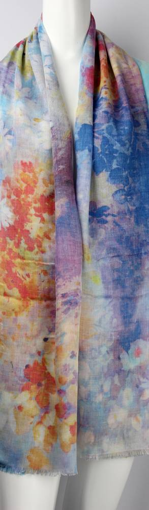Alice & Lily printed scarf yellow Style: SC/4452/Ltd. Ed.