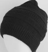 Headstart pull-on knit beanie black Style : HS/4557