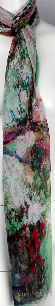 Alice & Lily printed  scarf blush Style : SC/4574/BLUSH