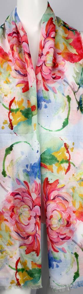 Alice & Lily printed  scarf floral  Style:SC/4654