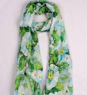 Alice & Lily printed  scarf floral blue Style:SC/4746BLU