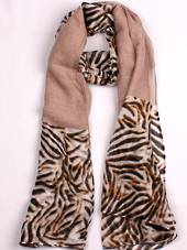 Alice & Lily printed  scarf  blush Style:SC/4757BLSH