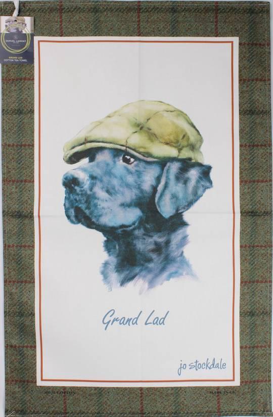Samuel Lamont 'Grand Lad' tea towel Code : TT-502