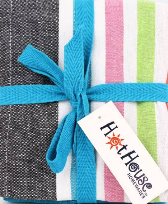 THREE PACK-Tea towel 'Atlanta' multi Code: T/T-ATL/3PK/MUL