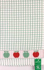 Samuel Lamont poli dri green apple  tea towel Code:TT-706JAPPLE