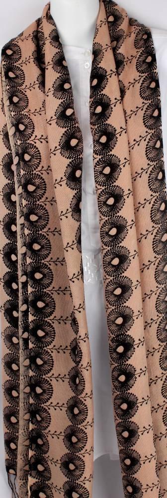 Pure viscose shawl/scarf Style:SC/BUDS