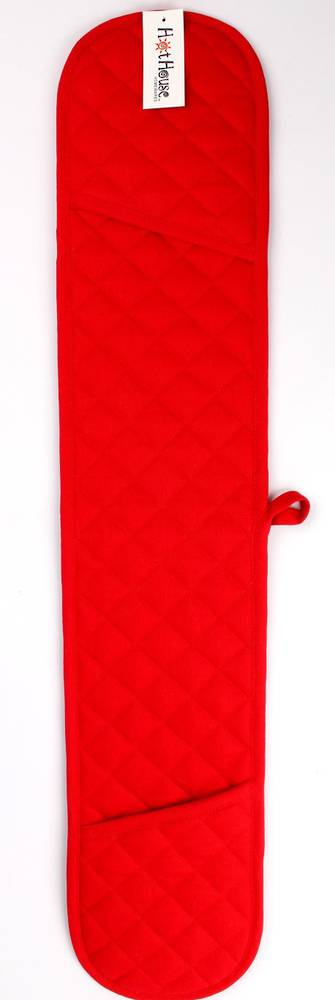 Double mit oven glove solid red Code: DM-HH/SRED