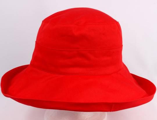 Classic cotton noosa hat red Code:HS/5600 -10 COLOURS