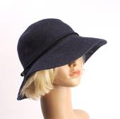 HEAD START linen packable hat navy Style: HS/4664/NAV
