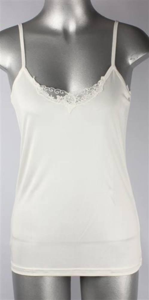 Pure silk lace camisole natural Code:AL/SILK/5