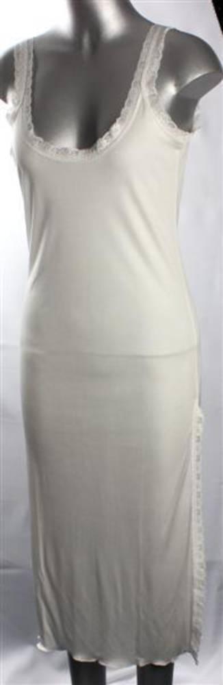 Pure silk lace nightie natural Code:AL/SILK/7