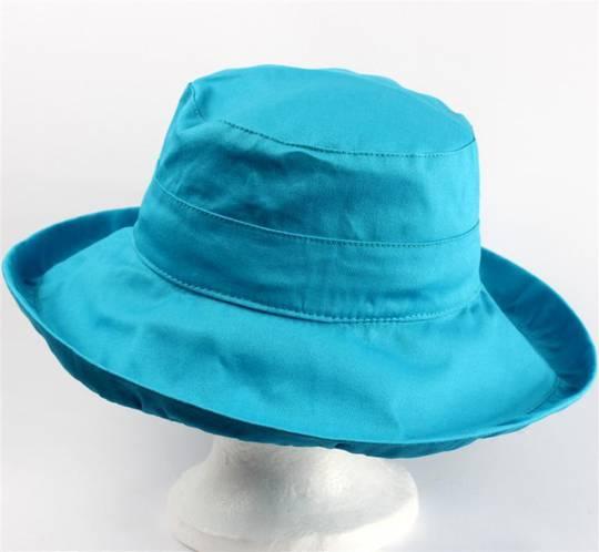Classic cotton noosa hat turq Code:HS/5600 -10 COLOURS