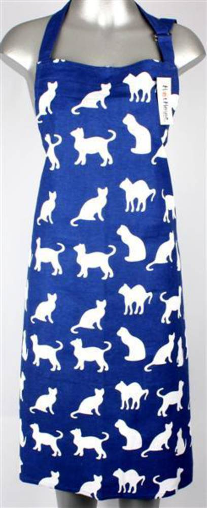 Shadow cats apron royal Code:APR-SH/CAT/ROY
