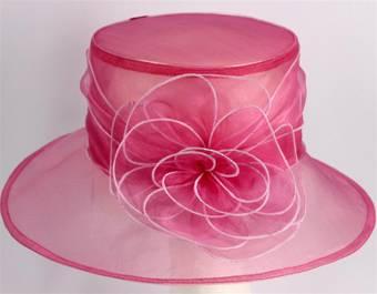 Organza fashion hat hibiscus Code:HS/1216