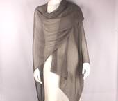 Alice&Lily viscose lacey wrap grey Style: SC/4641GRY