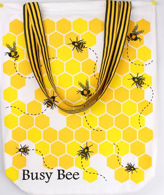 Busy bee tote bag CODE: TB-BUS/BEE