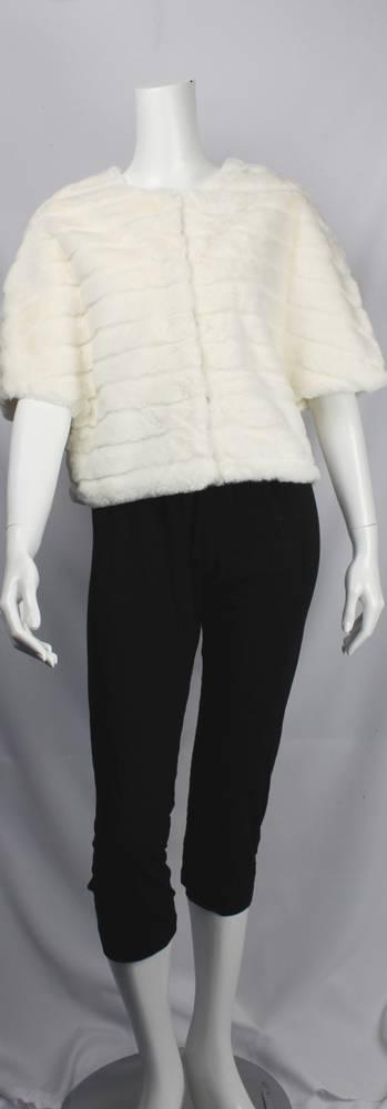 Alice & LIly faux fur capelet cream Style SC/4412