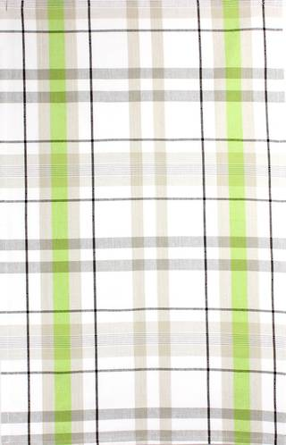 Tea Towel 'Reno Plaid' lime Code: T/T-REN/PLD/LIM