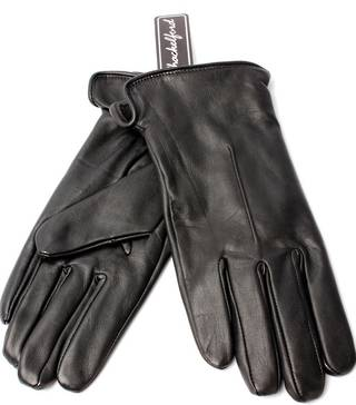 Ladies leather single point glove black Style:S/LL3292
