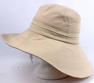 Lightweight cotton hat cream Style: HS/1663