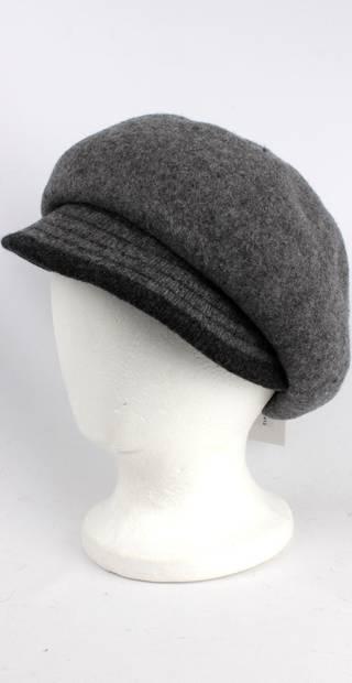 Headstart wool felt cap w 2 tone brim grey/dark grey Style : HS/1412