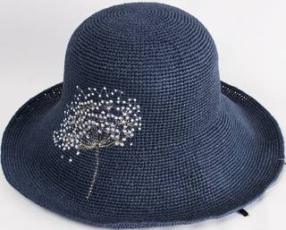 HEAD START Packable hat totally adjustable size,style shape or form navy Style: HS/1415/NAVY