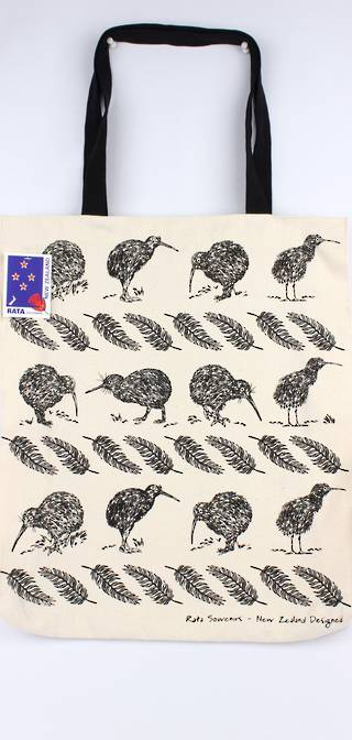 Tote bag NZ kiwi natural Code: S772/NZ KIWI