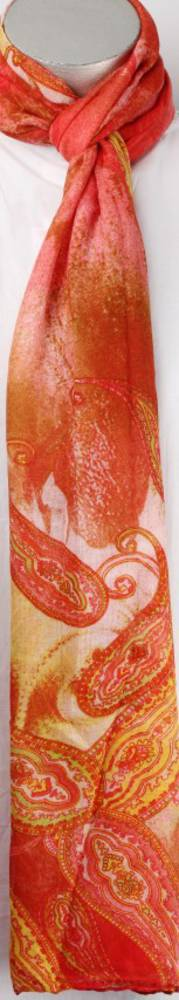 Printed  scarf  pink Style:SC/4189/PNK