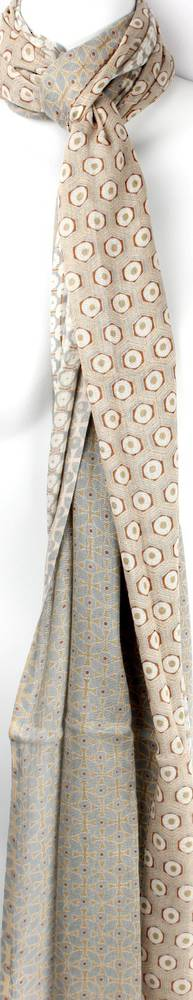 Alice & Lily printed scarf  mosaic beige Style: SC/SUM18/V4