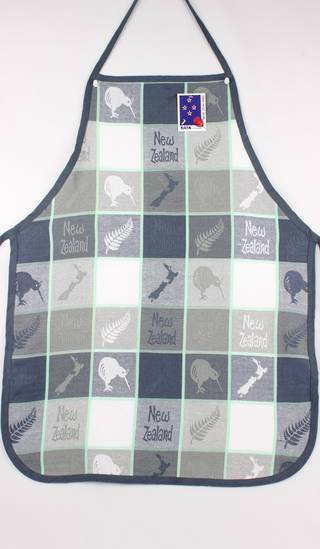 Apron map/kiwi grey Code: S700/MK/G