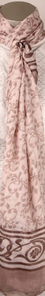 Printed  scarf pink Style:SC/4207/PNK