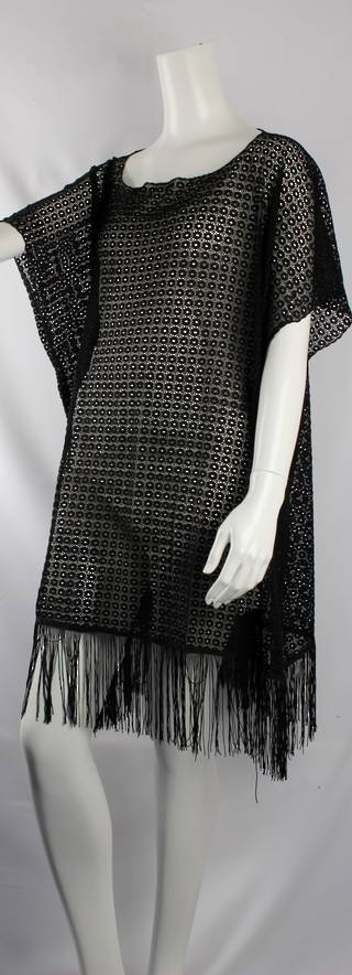 Alice&Lily black lace caftan black Style: AL/CAF4309BLK