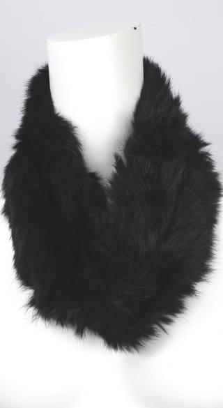 Alice & Lily fur snood black STYLE: SC/4375BLK-