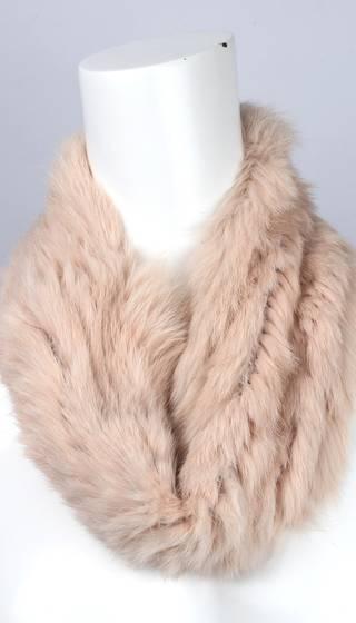 Alice & Lily fur snood blush STYLE: SC/4375BLSH-