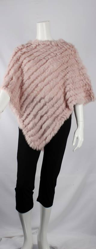 Alice & Lily fur poncho plain blush STYLE: SC/4254 BLUSH sorry sold out for season