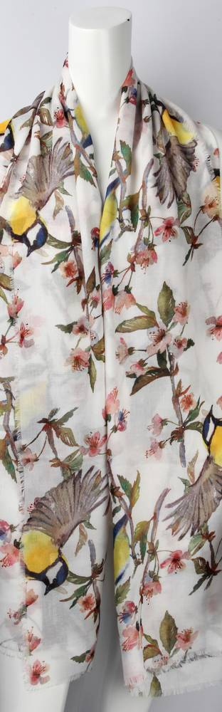 Alice & Lily printed scarf yellow  Style: SC/4451/Ltd. Ed.