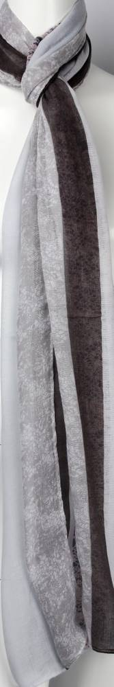 Printed  scarf grey Style:SC/4459/GRY