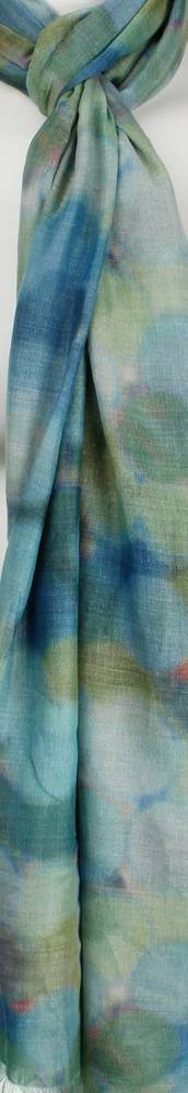 Alice & Lily printed scarf abstract spot multi green  Style: SC/4472/Ltd. Ed.