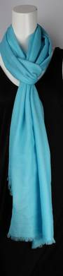 Alice & Lily pure wool scarf aqua Style :SC/4553