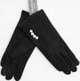 Winter ladies thermal  glove w pearls Style; S/LK4608/BLK