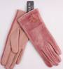 Winter ladies thermal lined glove w fur pompom pink Style; S/LK4611/PNK