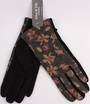 Winter ladies floral glove black Style; S/LK4623/BLK