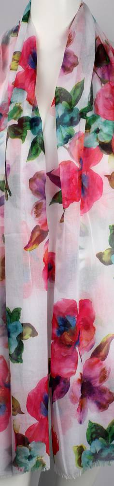 Alice & Lily printed  scarf floral pink Style:SC/4643PINK