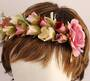 Fashion floral headband  Style: HS/4674