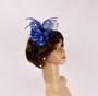 Headband fascinater w flower blue STYLE: HS/4680/BLU