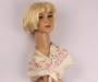 Alice&Lily silk square 50x50cm blossom ivory Style : SC/4711